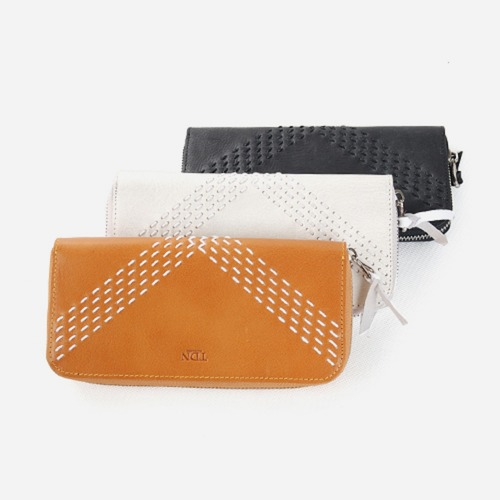 KENNETH HandStitch long wallet